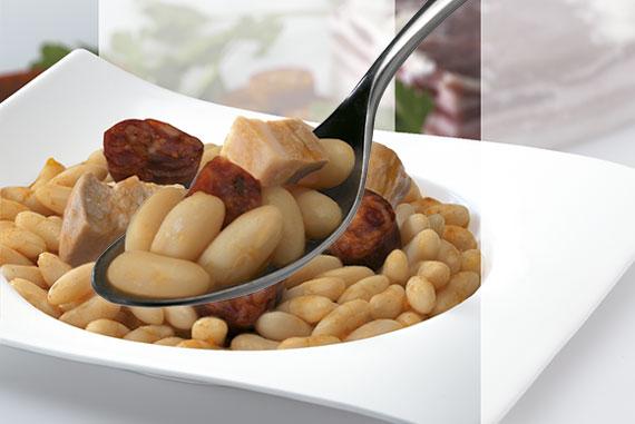 Jud as con chorizo y tocino - Judias con chorizo y patatas ...